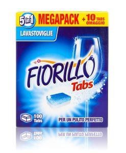 fiorillo detersivo lavastoviglie 100 tabs