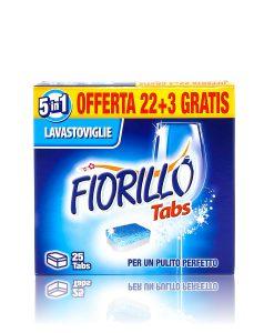 fiorillo detersivo per lavastoviglie 25 tabs