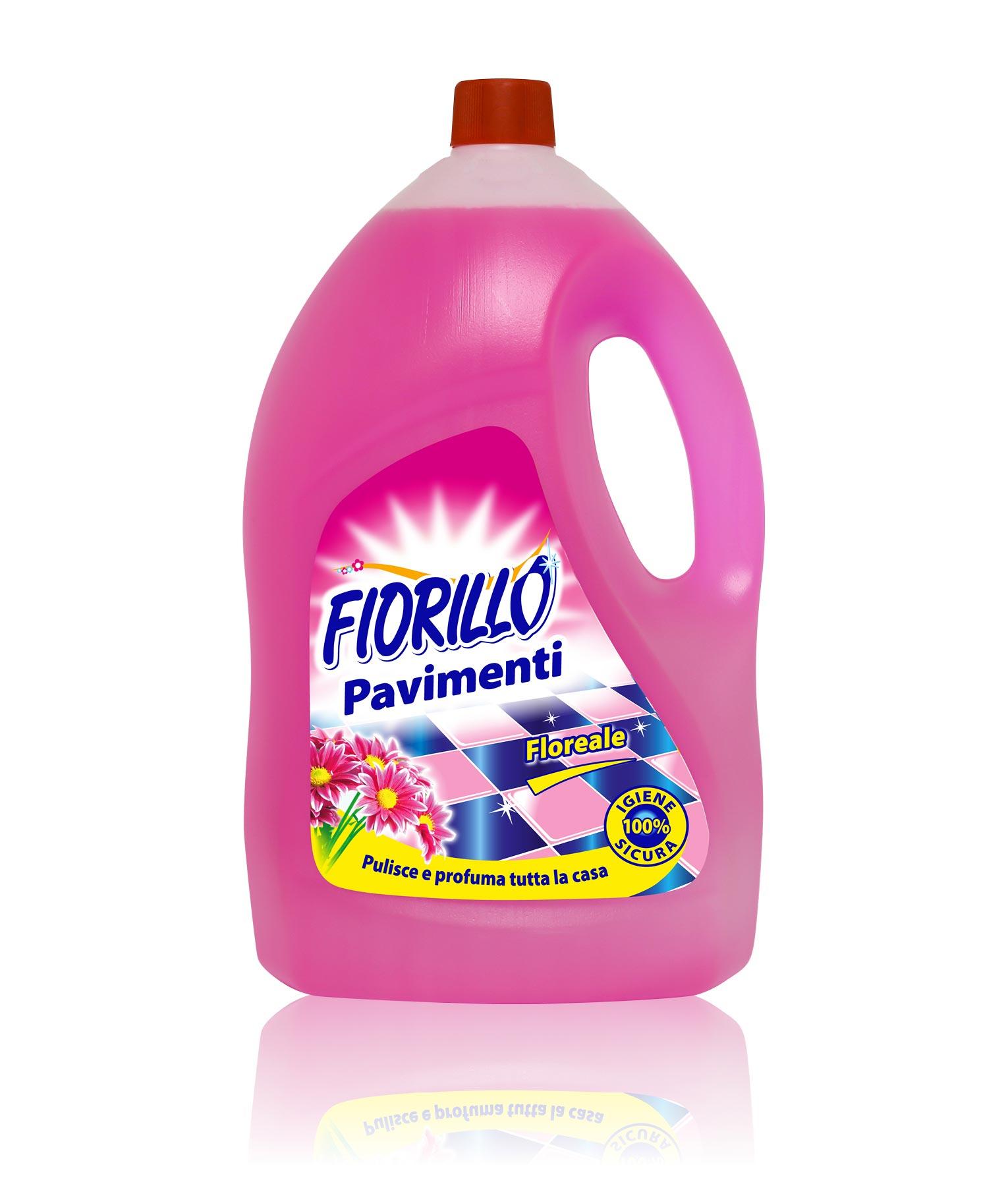 fiorillo detersivo per pavimenti floreale 4lt