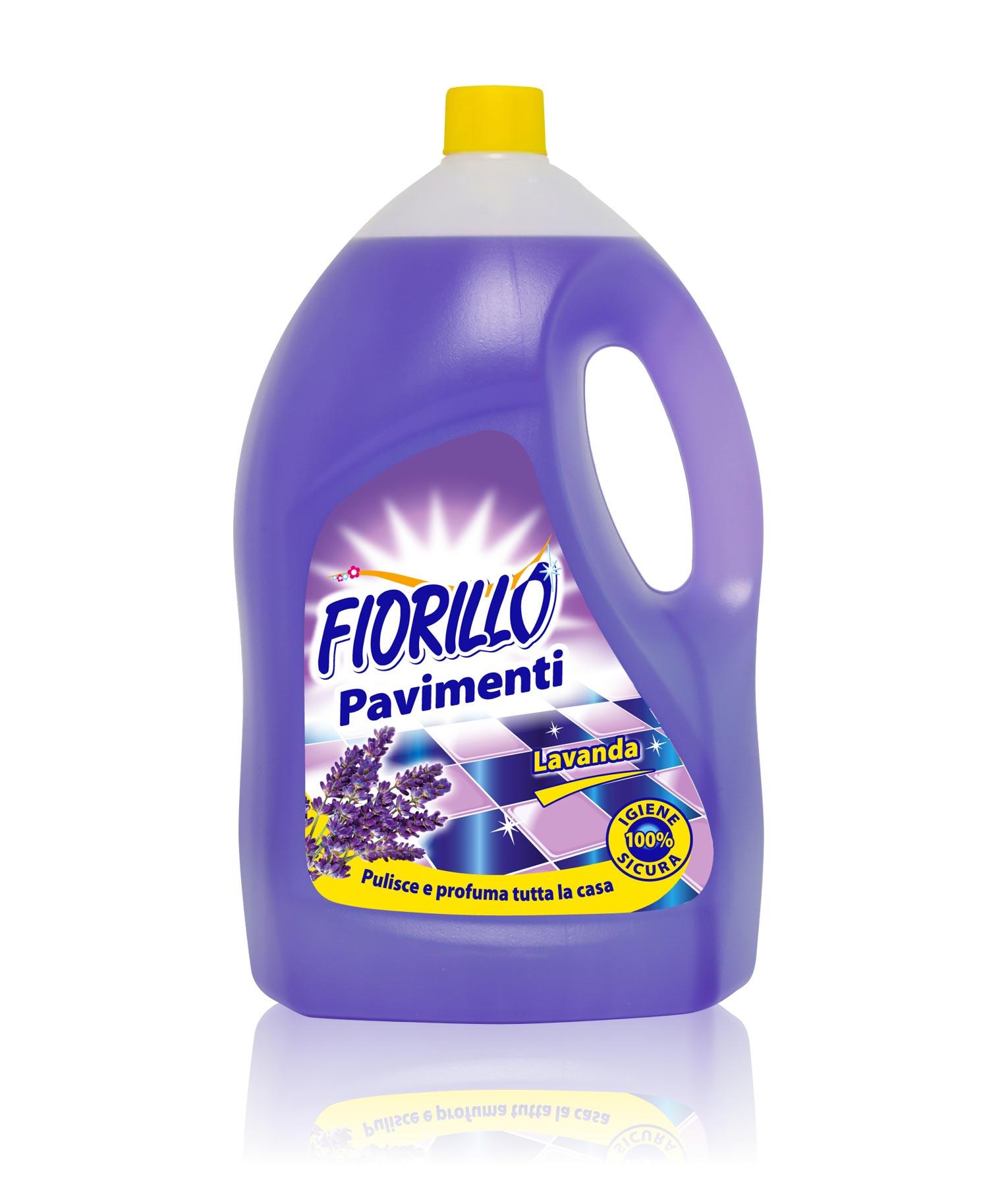 fiorillo detersivo pavimenti lavanda 4lt